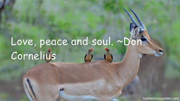 Don Cornelius Quotes