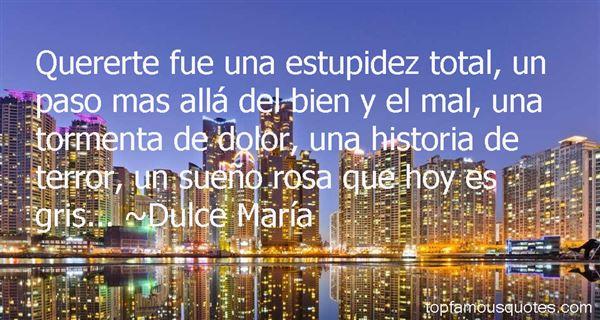 Dulce María Quotes