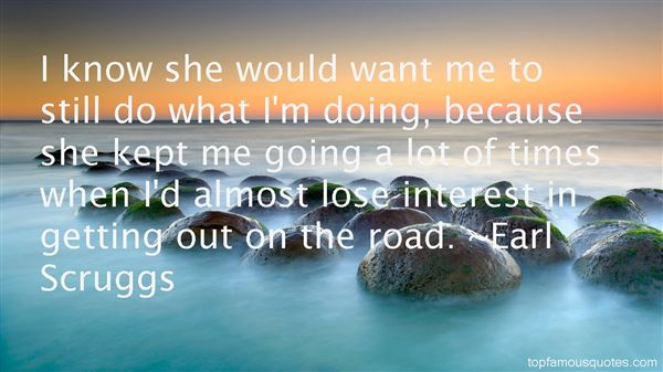 Earl Scruggs Quotes