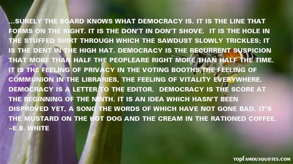 E.B. White Quotes