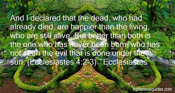 Ecclesiastes Quotes