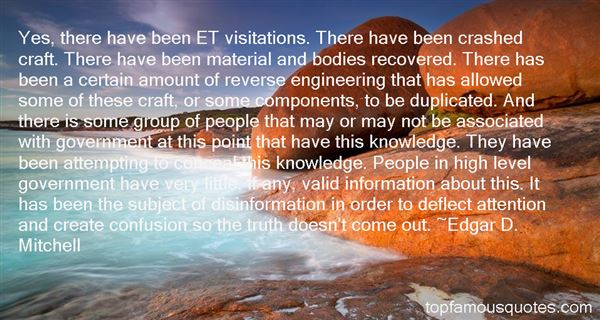 Edgar D. Mitchell Quotes