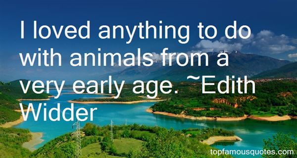Edith Widder Quotes