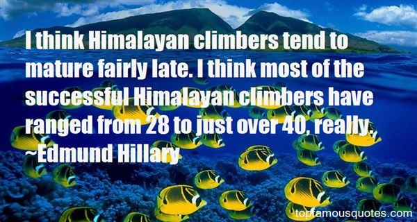 Edmund Hillary Quotes
