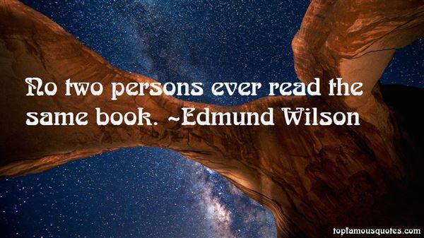 Edmund Wilson Quotes