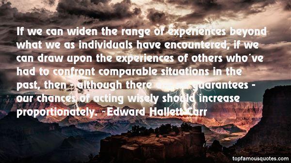 Edward Hallett Carr Quotes