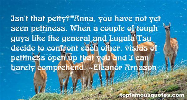 Eleanor Arnason Quotes