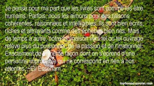Eli Esseriam Quotes