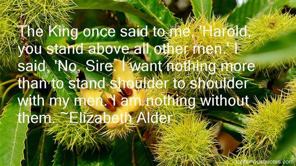 Elizabeth Alder Quotes