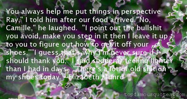 Elizabeth Munro Quotes