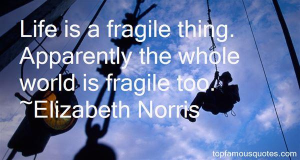Elizabeth Norris Quotes