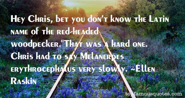 Ellen Raskin Quotes