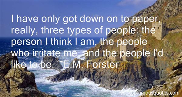 E.M. Forster Quotes