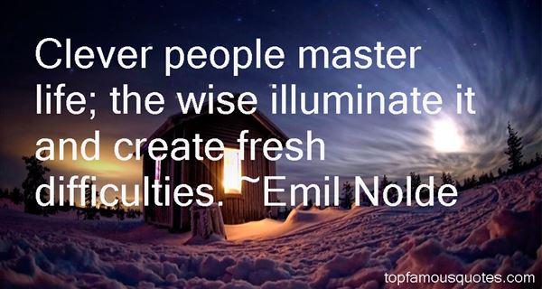 Emil Nolde Quotes