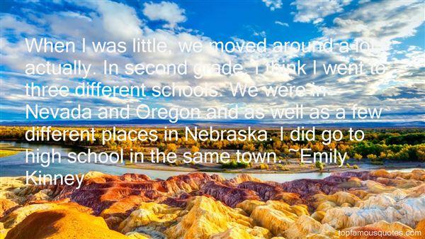 Emily Kinney Quotes
