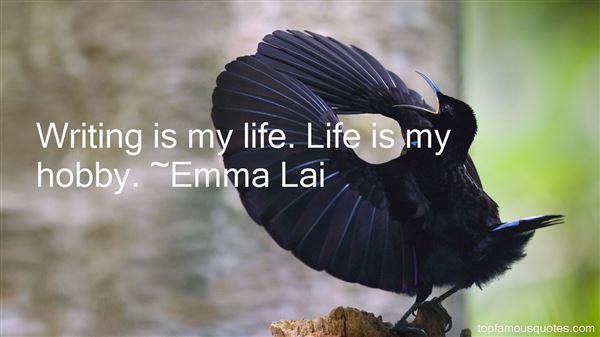 Emma Lai Quotes