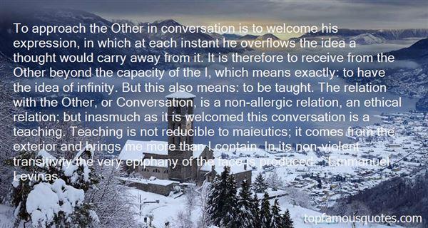 Emmanuel Levinas Quotes