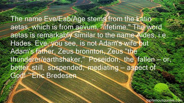 Eric Bredesen Quotes