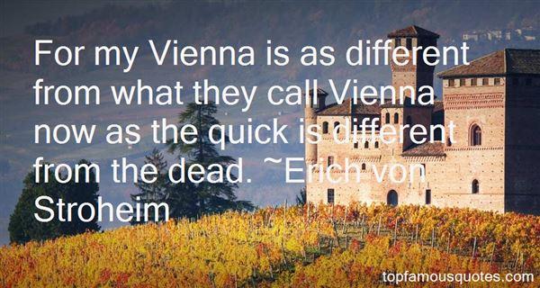 Erich Von Stroheim Quotes