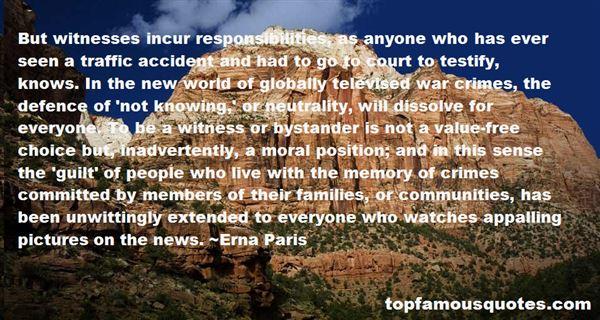 Erna Paris Quotes