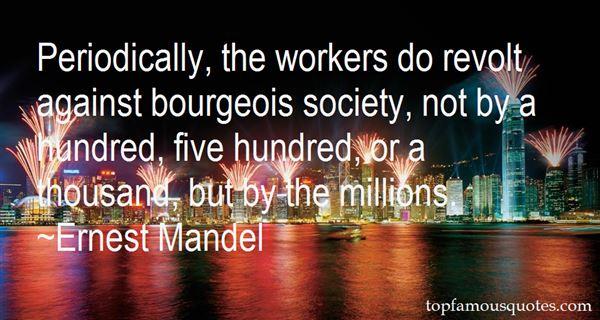 Ernest Mandel Quotes
