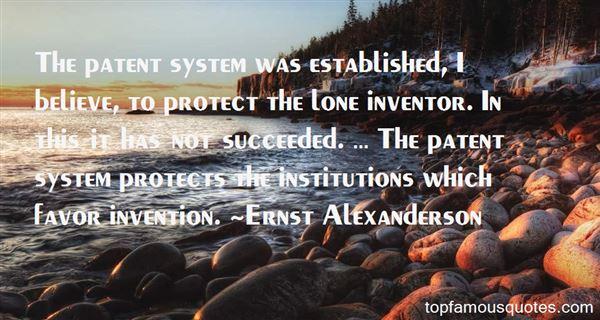 Ernst Alexanderson Quotes