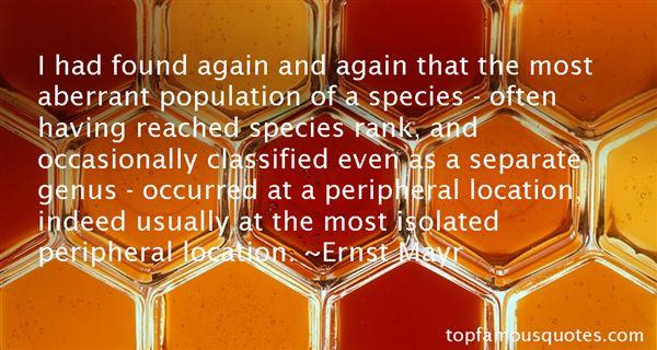 Ernst Mayr Quotes