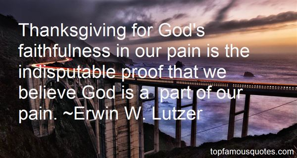 Erwin W. Lutzer Quotes