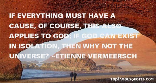 Etienne Vermeersch Quotes