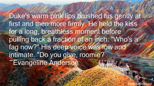 Evangeline Anderson Quotes
