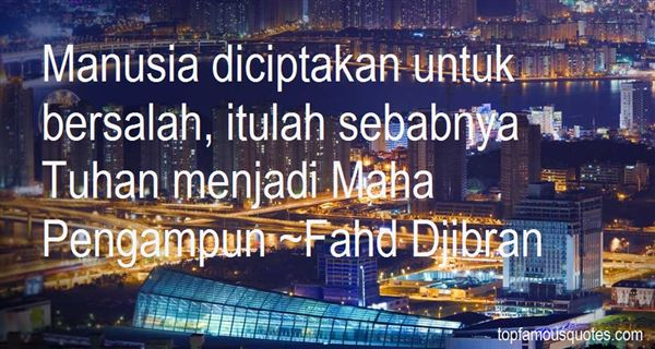 Fahd Djibran Quotes
