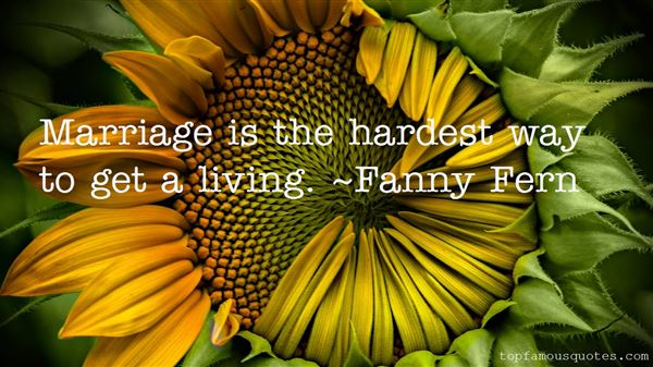 Fanny Fern Quotes