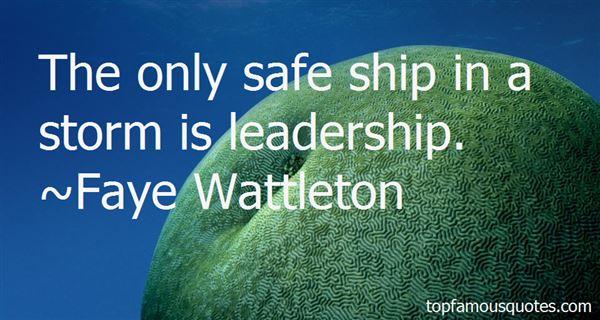 Faye Wattleton Quotes