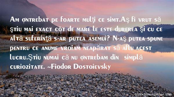 Fiodor Dostoievsky Quotes