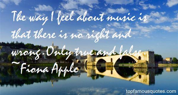 Fiona Apple Quotes