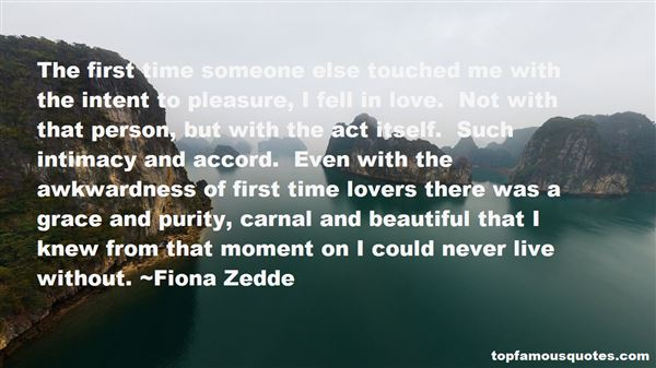 Fiona Zedde Quotes