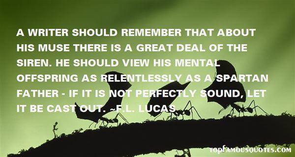 F.L. Lucas Quotes