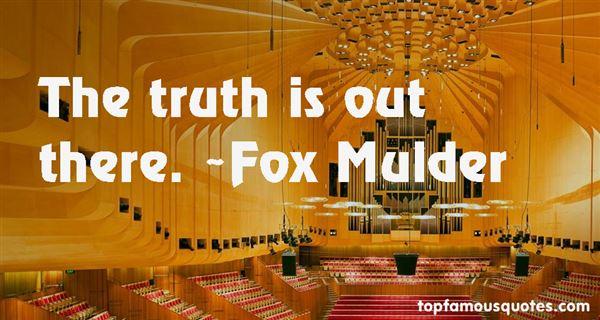 Fox Mulder Quotes
