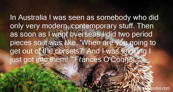Frances O'Connor Quotes