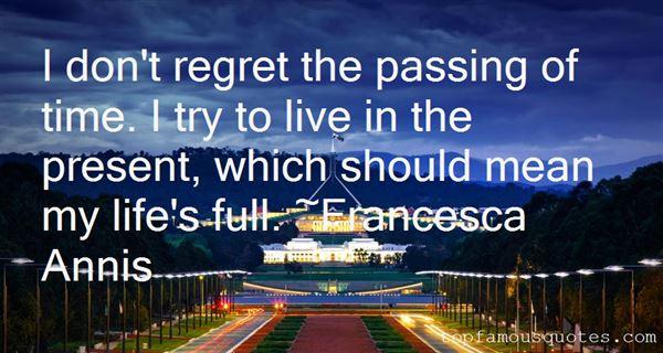 Francesca Annis Quotes
