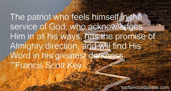 Francis Scott Key Quotes