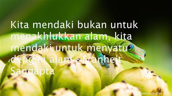 Franheit Sangapta Quotes
