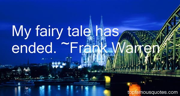 Frank Warren Quotes