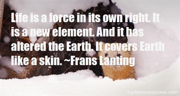 Frans Lanting Quotes