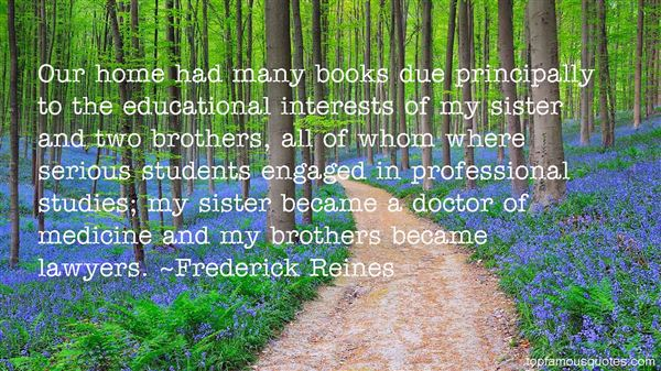 Frederick Reines Quotes
