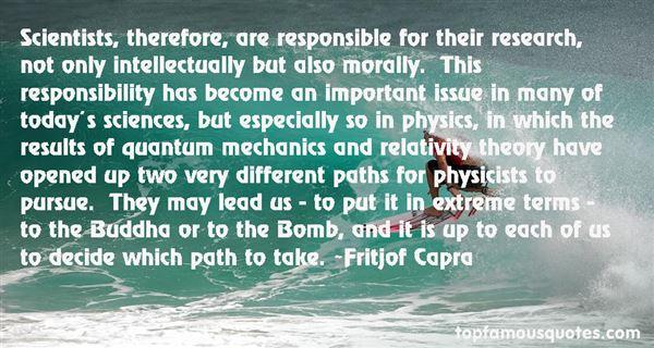 Fritjof Capra Quotes