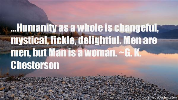 G. K. Chesterson Quotes