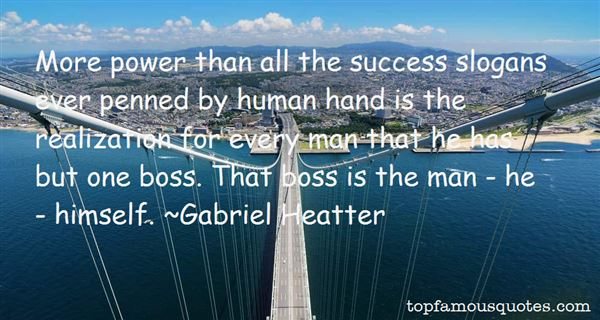 Gabriel Heatter Quotes