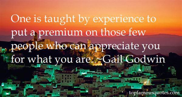 Gail Godwin Quotes