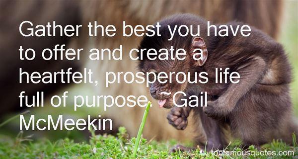 Gail McMeekin Quotes